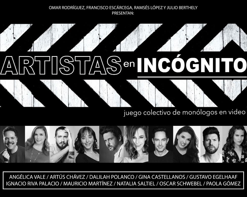 Artistas en Incógnito une talentos que, quizá, jamás hubieran coincidido  para trabajar | ADN Cultura